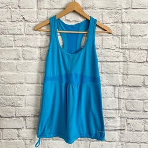 4/$20🍄 ONE TOOTH Activewear Blue Tank Top